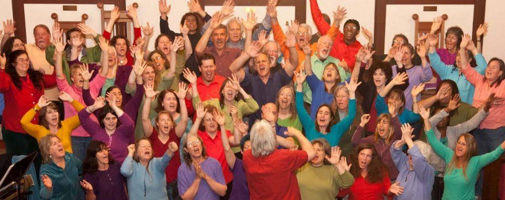 stembevrijding, sing along, community singing